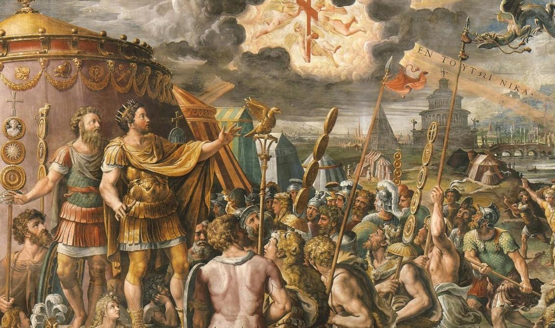 Το όραμα του Μεγάλου Κωνσταντίνου όπως αποτυπώθηκε από τον Ραφαέλο